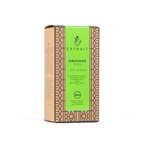 Paquet de café en grains 300g - JURUTUNGO - EXTRAIT