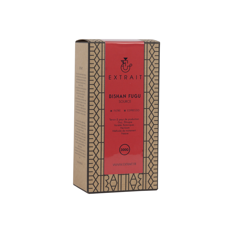 EXTRAIT™ - Bishan Fugu - Café - Éthiopie - 300g